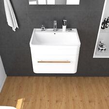 Bathroom Vanity Basin Cabinet Unit Wall Hung Compact Storage Soft Closing 60cm