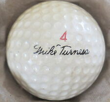(1) MIKE TURNESA SIGNATURE LOGO GOLF BALL ( PERSONAL BALL CIR 1958) #4