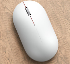 Xiaomi Wireless Mouse Generation 2 Silent Mouse Black Left and Right Hands
