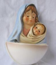 Goebel Porcelain Holy Water Font Madonna and Child Germany New in box