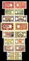 2x  50 - 1.000 Lire - Ausgabe 1926 - 1943 - Reproduktion - 11