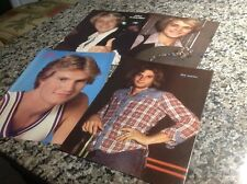 Jack Coleman,John Schneider,Rex Smith...HOT vintage color pics! Full page size!