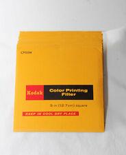 """Kodak Color Printing filters-Set of 13 (5"""")"""