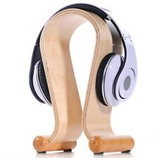 SAMDI U-shaped Wooden Wood Headphone Earphone Display Stand Holder Hanger G5T6