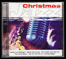 CHRISTMAS JAZZ - 12 CAROLS - AWAY IN A MANGER, FIRST NOEL - NEW & SEALED CD