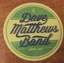 DAVE MATTHEWS BAND DMB Circle Logo Since 1991 Sticker New