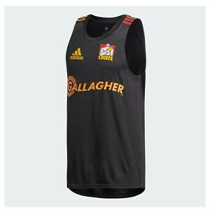 NZ Super Rugby Waikato Chiefs 2020 Men's Performance Singlet - Sizes S - M