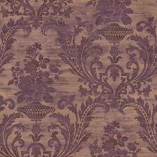 CS35602 - Classic Silks 3 Damask Copper Purple Galerie Wallpaper