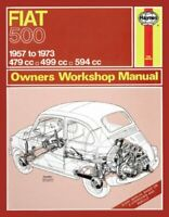 Fiat 500 Owner's Workshop Manual by Haynes Publishing 9780857335838   Brand New