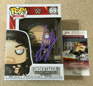 The Undertaker Signed WWE Funko Pop #69 JSA Witnessed COA Autograph Auto
