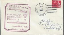 1966 Gemini 11 USS USS Thedore E Chandler Recovery Vessel  aaa