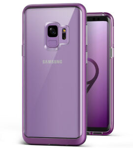For Samsung Galaxy S9 / S9 Plus Case VRS® [Crystal Bumper] Clear Slim Soft Cover