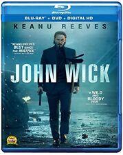 John Wick [Bluray + DVD + Digital HD], New, Free Shipping