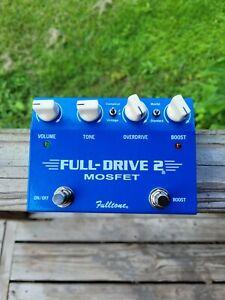 Fulltone FD-2 Mosfet Distortion Guitar Effect Pedal