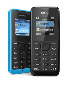 Ultra-long Time Standby Color Phone Nokia 105/1050 Multilingual Phone