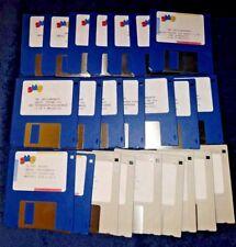 Amiga Commodore Computer 500  1200 4000 Clip Art Fonts Disks and books graphics