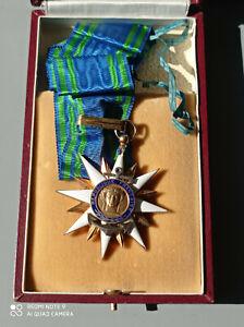 COMMANDEUR MEDAILLE ORDRE DU MERITE MARITIME french medal