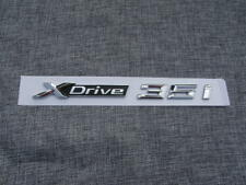 """Chrome Letters """" XDrive 35i """" Sides Emblems Badges for BMW 1 3 4 5 6 7 Series"""
