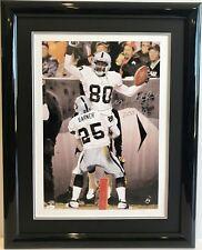 Jerry Rice Signed Framed 200 TD's Autographed Litho  JSA/COA