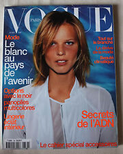 Vogue Paris ~ #786 April 1998 ~ Rosario Nadal Eva Herzigova