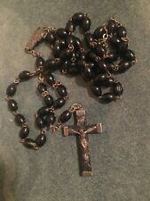 VINTAGE ROSARY BEADS.