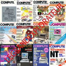 Ultimate Compute! Magazines Collection 1979-94  (170 Pdfs magazine s on 4 DVDs)