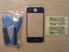 Kit reparacion completo del Cristal de Pantalla Tactil Negra para Apple Iphone 4