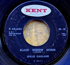 Blues Harmonica 45: Willie Garland Black Widow Spider/Soul Blues Kent 461