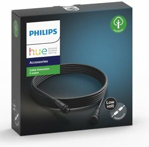 Philips Hue - Cable Extension 5M  Outdoor- White & Color Ambiance NEW