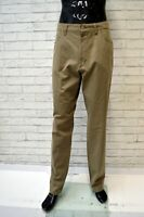 Jeans CAMEL Uomo Taglia Size 38 52 Pantalone Pants Man Cotone Regular Fit Verde