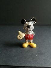 Disney Jeweled Mickey mouse Arribas Swarovski Crystal Figure figurine ornament