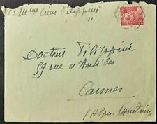 France 1947 Cover #C55650
