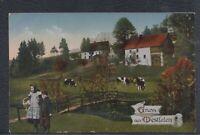 42887) AK Gruß aus Westfalen Schalksmühle Westfalenlied ca. 1910