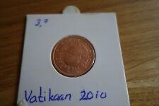0.05 eurocent Vaticaan 2010 BU
