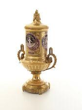 Tafelaufsatz Prunk-Vase Deckelvase Gefäß Antik-Stil Historismus Jugendstil Urne