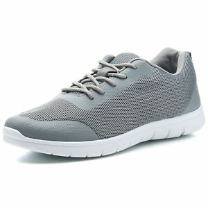 Alpine Swiss Bolt Mens Mesh Sneakers Lightweight Tennis Shoes Casual Trainers