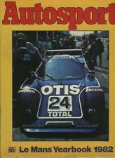Autosport 1982 LE MANS YEARBOOK - Teams & Cars & Drivers