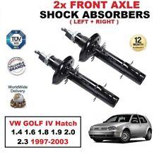 2x ant. AMMORTIZZATORI per VW GOLF IV Hatchback 1.4 1.6 1.8 1.9 2.0 2.3