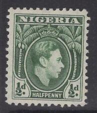 Nigeria SG49 1938 1/2 D menta verde MTD