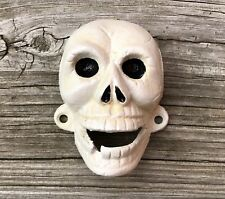 Cast Iron Skeleton Skull Face with Missing Tooth Wall-Mount Beer Bottle Opener
