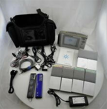 HP Agilent N1610B Service Advisor Tablet w/ Modules, Battery, Cables & Case