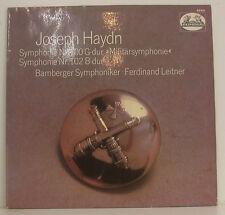 """HAYDN SYMPHONIE n. 100 SINFONIA MILITARE n. 102 FERDINAND LEITNER 12"""" LP (g391)"""