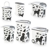 Curver Hunde Futtercontainer Design Futtertonne Futter Box XXL Größenauswahl SW