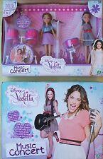 Disney Violetta (Tini) Francesca concierto de música (Kit de batería) Juego de Muñeca Nuevo En Caja