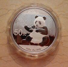China 2017 Silver 150 Grams Panda Coin