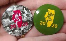 2020 Illinois Deer Harvest Pin Set Firearm and Archery Season New #817