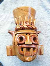 TLALOC  WOOD CARVED NEW. READ BEFORE YOU BUY