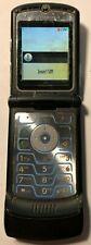 READ FIRST Motorola RAZR V3 Black (UNLOCKED) T-Mobile Cell Phone Good Used