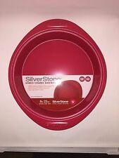 NEW SilverStone Hybrid Ceramic Nonstick Steel Cake Pan 9-Inch Round Chili Red
