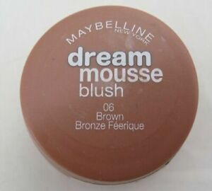 2 x Maybelline Dream Mousse Blush - Sealed - 06 Brown Bronze Feerique